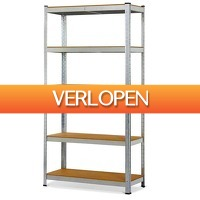 GroupActie.nl: Herzberg stalen stellingkast