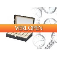 DealDonkey.com 2: Horloge en sieraden opbergdoos