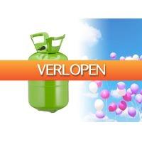 DealDonkey.com 3: Helium tank voor 30 ballonnen