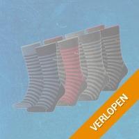 4-pack Puma sokken melange stripe