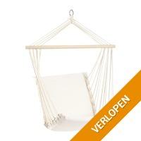 Hangstoel aan stok - wit
