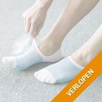 5 paar sneaker sokken