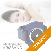Anti-snurk armband