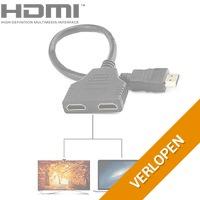 2 poorts HDMI switch/splitter kabel