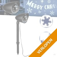 LED Projector Kerstmis Editie