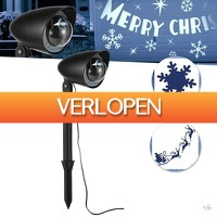Wilpe.com - Home & Living: LED Projector Kerstmis Editie