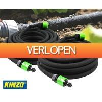Voordeelvanger.nl 2: 2 x Kinzo 15 meter druppelslang