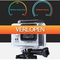 Uitbieden.nl: 4 K Ultra HD WIFI 30 M H9 Sports Actie Camera