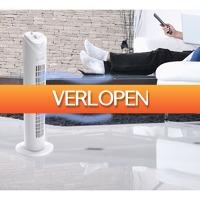 Koopjedeal.nl 1: Luxe Torenventilator met 3 Verschillende Luchtstroomsnelheden