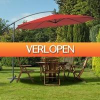 Koopjedeal.nl 2: Luxe XXXL zweefparasol