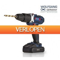 Koopjedeal.nl 2: Wolfgang Germany 18V accuboormachine + Accessoireset