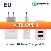 Priceattack.nl: 4-poorts USB Fast Charger
