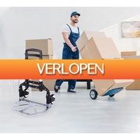 Koopjedeal.nl 2: Robuuste invouwbare steekwagen