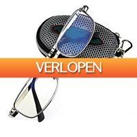 Dennisdeal.com 3: Opvouwbare leesbril met opbergtasje
