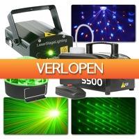 MaxiAxi.com: Beamz licht en laser disco set