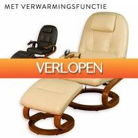 Slimmedealtjes.nl: Massagestoel met verwarmingsfunctie