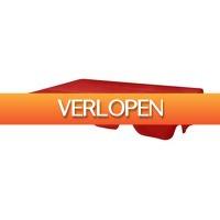 VidaXL.nl: vidaXL Vervangende luifel voor schommelbank 226 x 186 cm rood