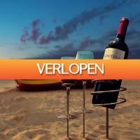 MegaGadgets: Wijnfles en wijnglas houder set
