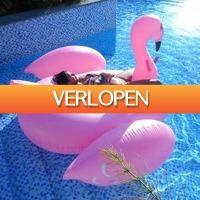 MegaGadgets: Opblaasbare flamingo (1,90 m)
