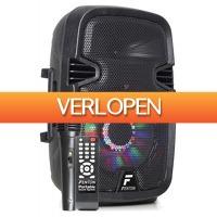 MaxiAxi.com: Fenton FT8LED karaoke speaker