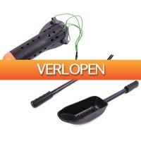Visdeal.nl: WOW! Ultimate Baiting Kit met werppijp, scoop en spod