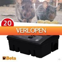 Wilpe.com - Outdoor: 20 x Beta rat voerdozen