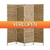 VidaXL.nl: vidaXL scheidingswand met 4 panelen