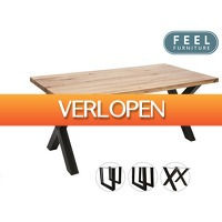 iBOOD.be: Feel Furniture eetkamertafel Oak