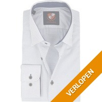 Suitable overhemd HBD Wesley wit