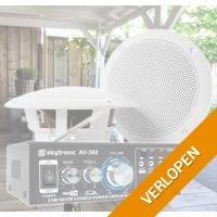 SkyTronic TS05 buiten speakers