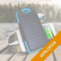 5000 mAh solar powerbank