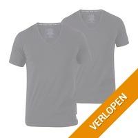 2 x Calvin Klein ID SS V-neck T-shirt