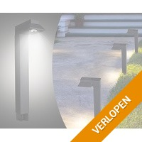 6-Pack The White Series zonne-energie tuinlampen