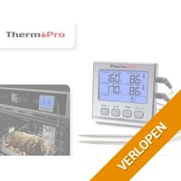 ThermoPro dubbele vleesthermometer digitaal