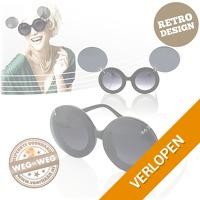 Hippe flip-up zonnebril