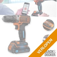 Black and Decker boormachine