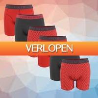 Kiesjekoopje.nl: Vinnie-G boxershorts Flamingo 6-pack
