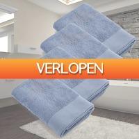 Kiesjekoopje.nl: 4 x Walra Soft Cotton douchelaken