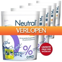 Voordeeldrogisterij.nl: Neutral Was capsules color jaarpack
