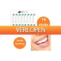 Dailygrabdeals.com: 16 opzetborstels voor Oral B of Sonicare