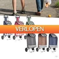 Wilpe.com - Outdoor: Trendy boodschappentrolley