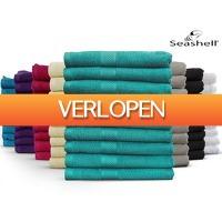 iBOOD.be: 9 x Seashell Hotel Collection handdoek