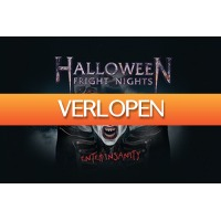 VakantieVeilingen: Veiling: Tickets Halloween Fright Nights in Walibi Holland (2 p.)