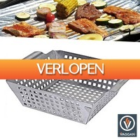 Wilpe.com - Outdoor: Vaggan Barbecue Grill Pan RVS
