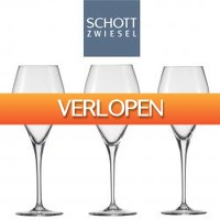 One Day Only: 6 x Schott Zwiesel wijnglazen Estelle