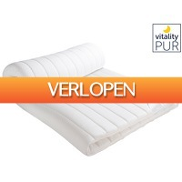 iBOOD Home & Living: Vitality Pur Sleep Fit traagschuim topper