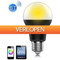 Uitbieden.nl: Bluetooth sfeer gloeilamp
