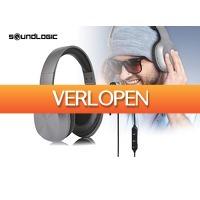 DealDonkey.com: Soundlogic draadloze koptelefoon + oordopjes