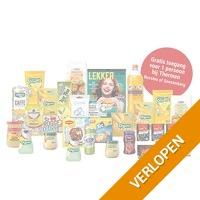 Veiling: Happy Box met 25 producten + sauna entree (1 p.)