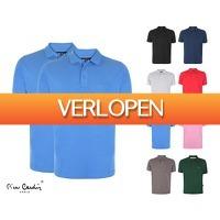 Voordeelvanger.nl: Pierre Cardin katoenen polo's